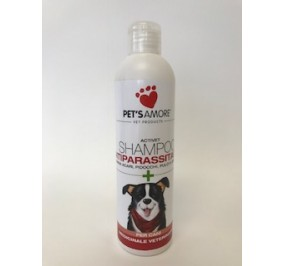 DOG SHAMPOO ANTIPARASSITARIO PER CANI ML 250